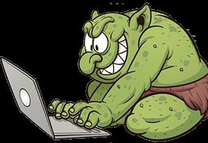 El Trol en Internet