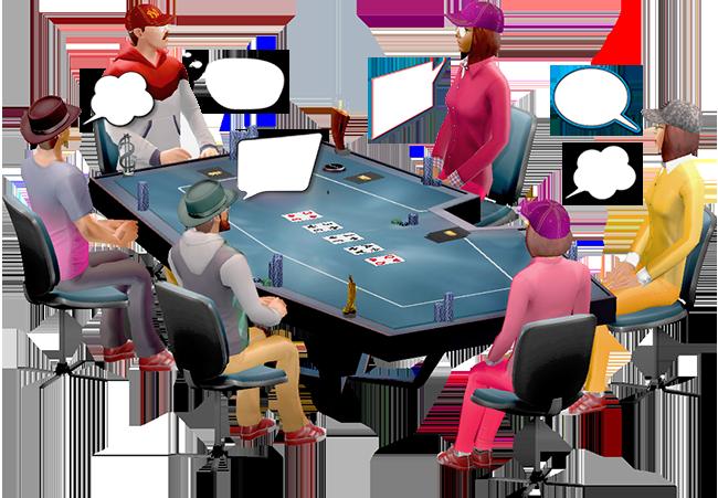 Jerga característica del póker y su lenguaje: Modo de hablar