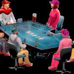 El juego del póker online: Técnica, habilidad y destrezas