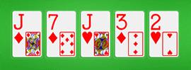 Jugar la quinta carta de la mesa es el River, Texas Hold'em
